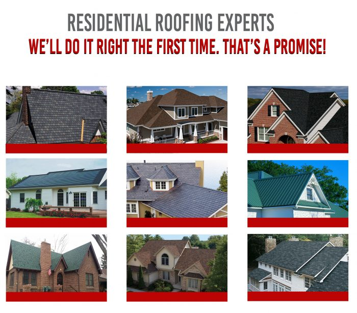 Residential Roofing Contractors in Charlotte